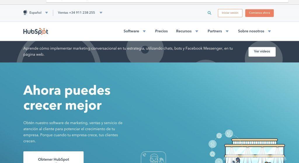 Herramientas online - Hubspot