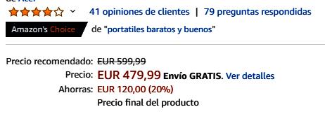 Acer - Producto más vendidos en Amazon - Informática