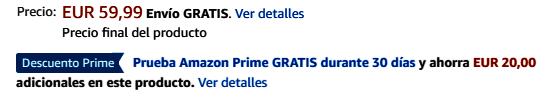 Amazon Fire Stick TV Precio