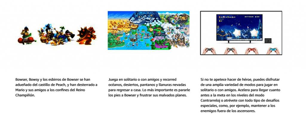 Juego Mario Más vendido 2019 Amazon