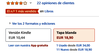 Libros Amazon - Lo más vendido