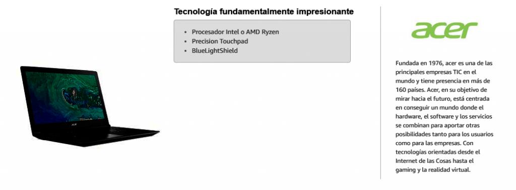 Los productos más vendidos en Amazon - Informática 2019 Acer