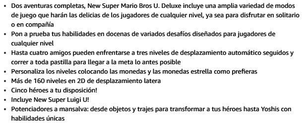 Mario Bross Juego Nintendo - Amazon - Lo más vendido