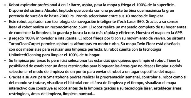 Robot Aspirador en Hogar y Cocina - Amazon