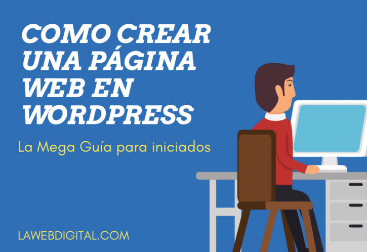 Crear web WordPress.