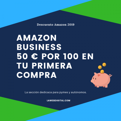 Amazon Business descuento 50 €