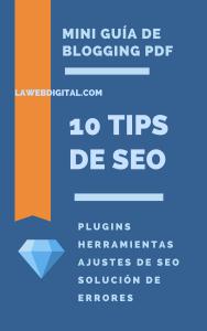 Ebook de SEO 10 Tips