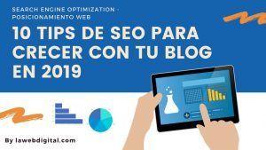 Consejos SEO 2019