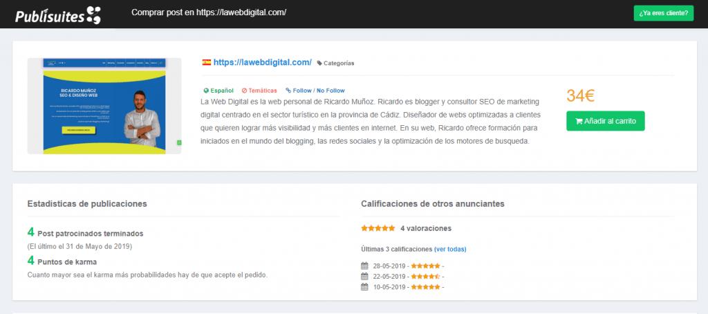 Redacción de Blogs en Cádiz - Ricardo Muñoz