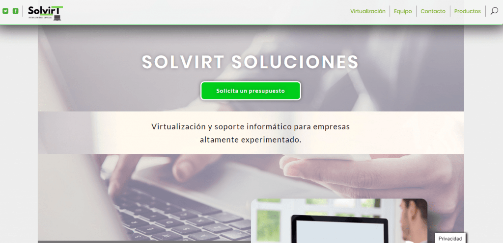Diseño Web - Solvirt.es