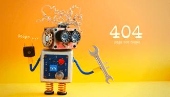 Cómo evitar un Error 404 - No Encontrado.