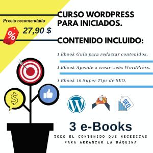 Curso de Wordpress para iniciados.