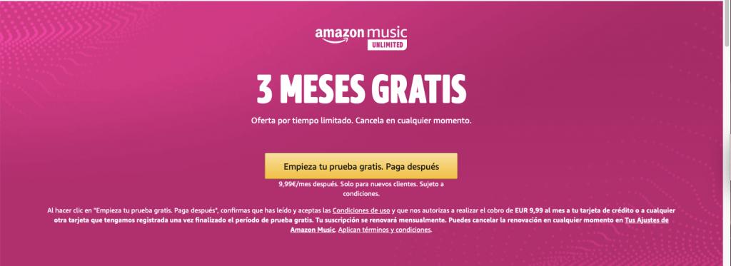 Amazon Músic Unlimited