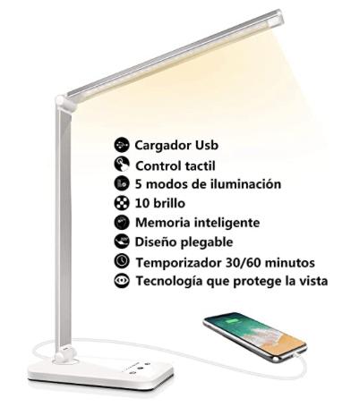 Lámpara para estudiar - Ofertas Amazon