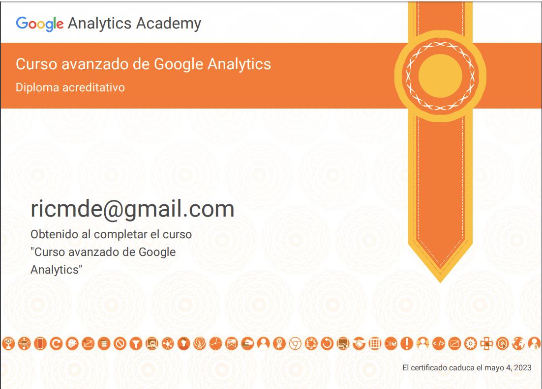 especialista en Google Analytics