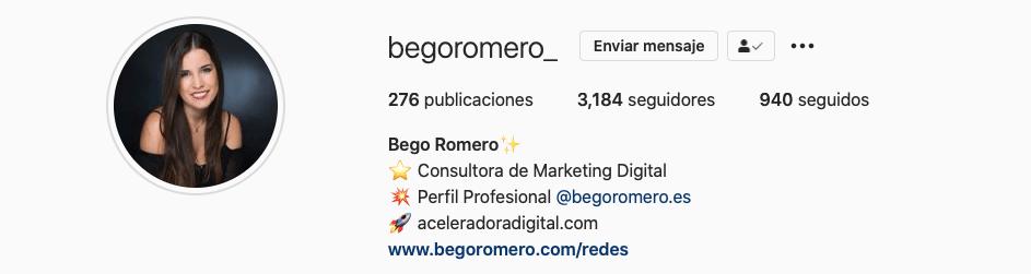 Marca Personal - Bego Romero y begoromero.com