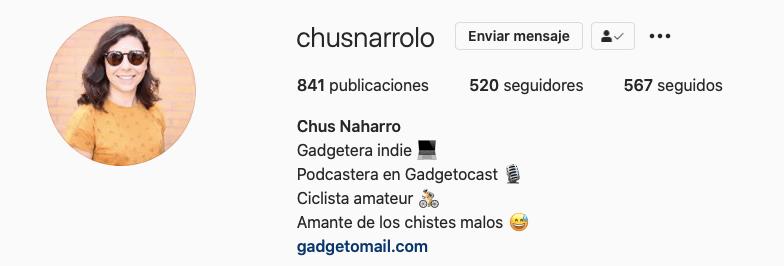 Chus Naharro - Marca Personal - gadgetomail.com