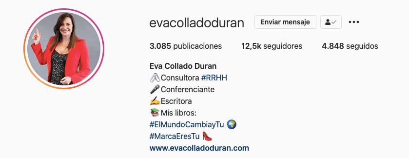 Eva Collado - Marca Personal - evacolladoduran.com