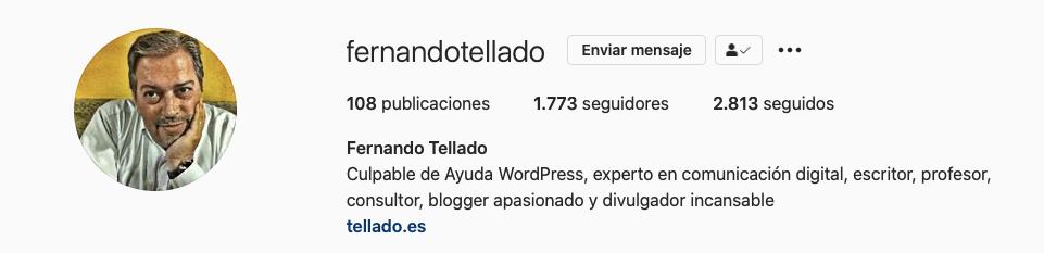Marca Personal - Fernando Tellado - ayudawp.com
