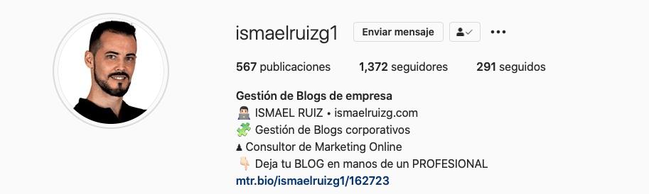 Marca Personal - Ismael Ruiz - ismaelruizg.com