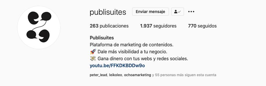 Publisuites - Marca personal. publisuites.com