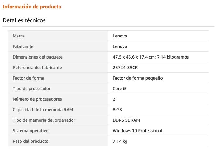 Comprar ordenadores de sobremesa - Lenovo