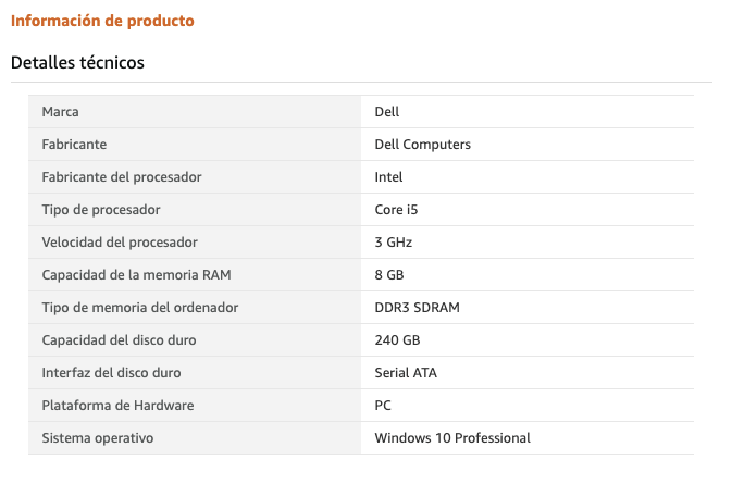 Ordenadores de sobremesa baratos - Dell