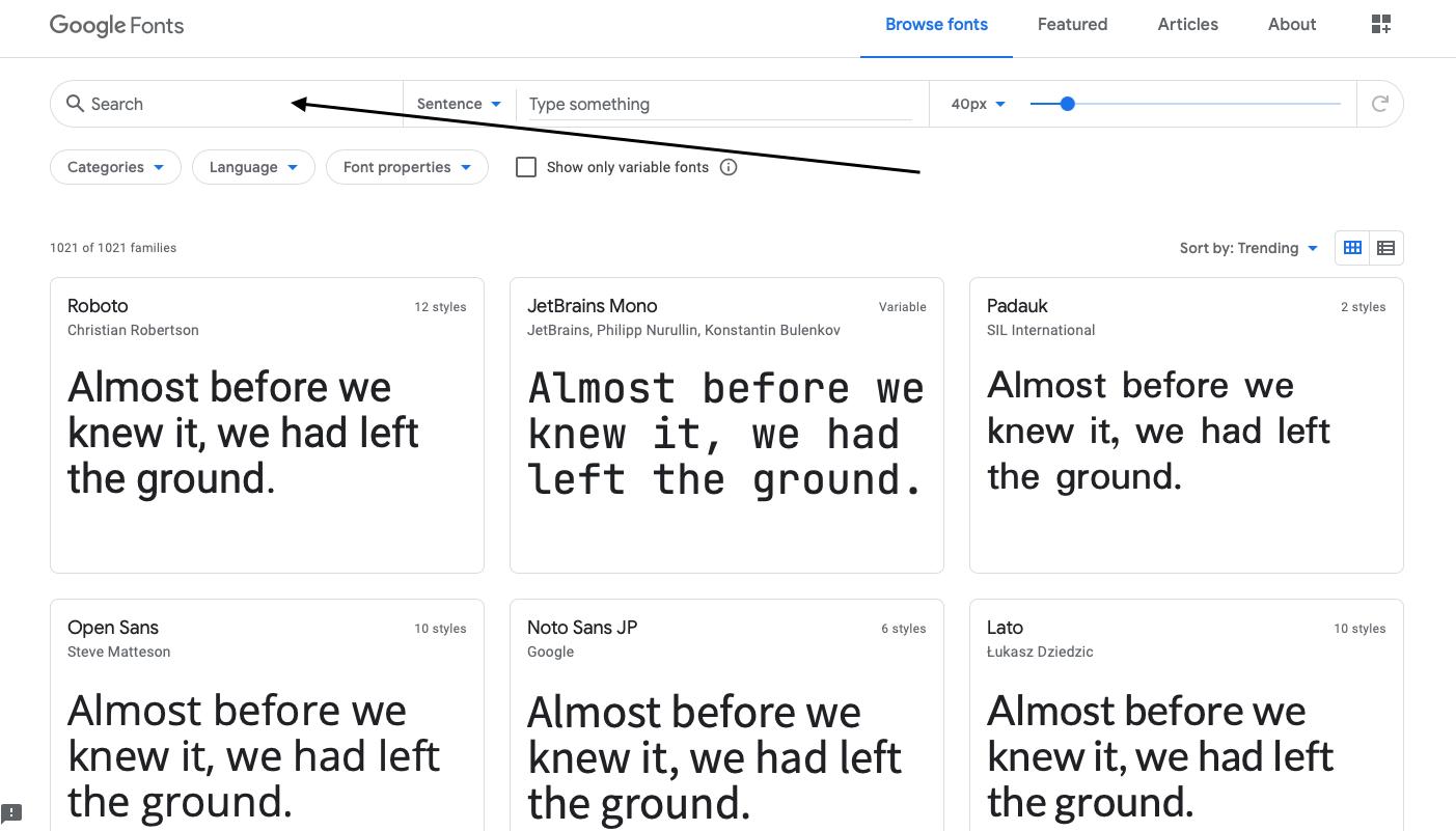 Cambiar el tipo de letra - WordPress
