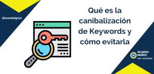 Qué es la canibalización de Keywords